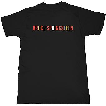 Bruce Springsteen - Logo Men's X-Large T-Shirt - Black