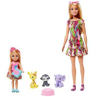 Barbie cumpleaños sorpresa &Chelsea Historia Playset
