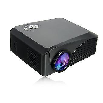 BP-M400 Kannettava LCD LED-projektori 1000 Lumens 800x480 Pikseliä 1080P Multimedia USB Theater Cinema
