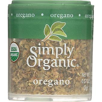 Simply Organic Mini Oregano Leaf Org, Case of 6 X 0.07 Oz