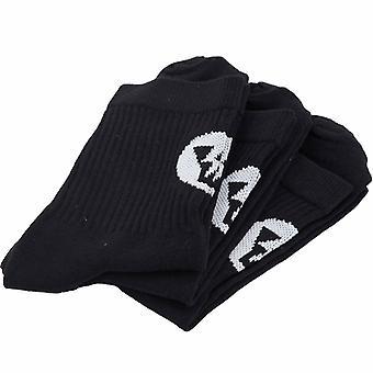Yellow Socks Pack 3 Thunder Socks Zwarte Kleur