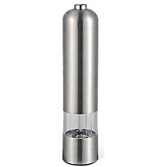 Elektrisk salt-/pepparkvarn rostfritt stål
