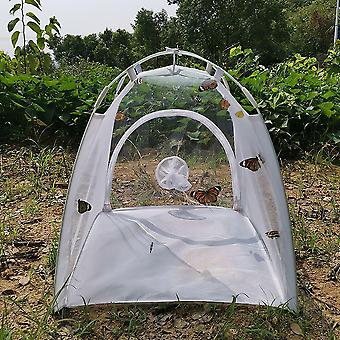 Outdoor Insect Mesh Incubator Butterfly Habitat Cage