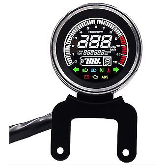 Motorrad Mehrzweck-Tachometer, LCD-Display-Tachometer