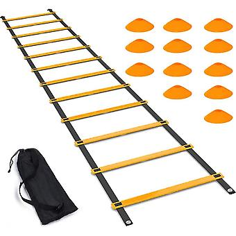 Agility Ladder Set,footwork Speed Training For Soccer,football