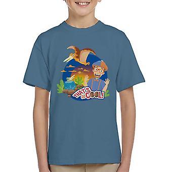 Blippi Pterodactyl Thats So Cool Kid's T-Shirt