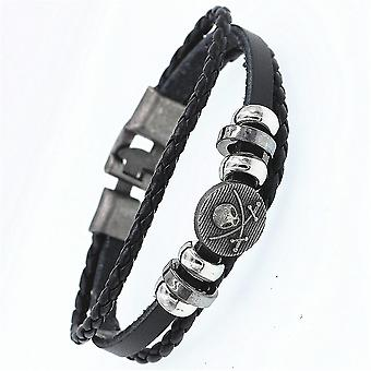 Multilayer Casual Braided Leather Bracelets(21cm)