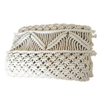 Macrame Table Runner With Tassels Woven Table Runner Wedding Decoration Macrame Table