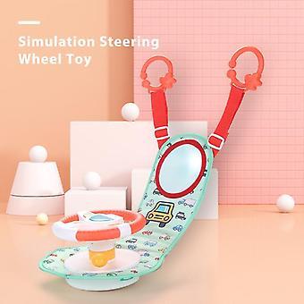 Baby Kids Electric Simulation Steering Wheel Toy