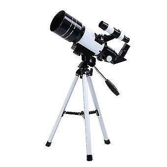 Telescope for Astronomy Adult Kids Beginners, 150X Astronomical Refractor Telescope, 300X70mm