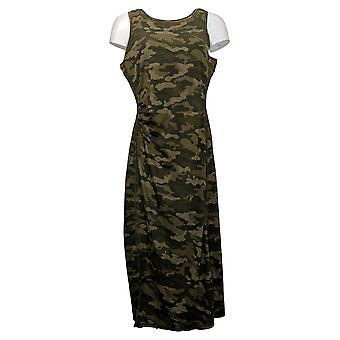 zuda Dress Z-Cool Regular Printed Knit Midi Green A377787