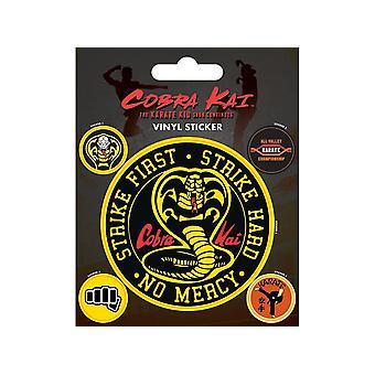 Cobra Kai Emblème Autocollants en vinyle