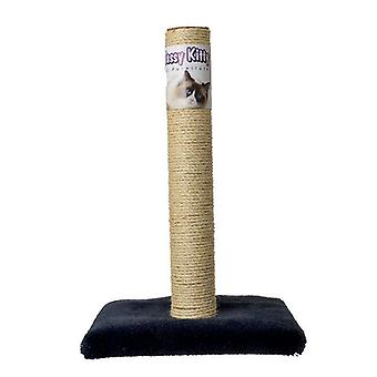 """Classy Kitty Cat Sisal Scratching Post - 26"""" High (Assorted Colors)"""