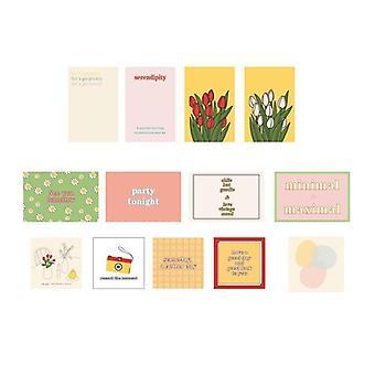 Enkel stil Blomster Væg Sticker Foto Rekvisitter