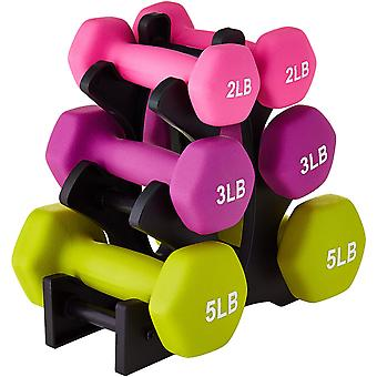 Compact Dumbbell Holder Home Gym Exercise Weight Rack For Dumbbells