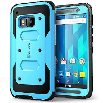 i-Blason HTC One M9 Case - Armorbox Full Body Protective Case - Blue