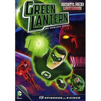 Ascenso de los Red Lanterns: importación de Estados Unidos temporada 1 PT. 1 [DVD]