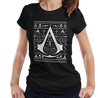 Christmas Knit Assassins Creed Women's T-Shirt