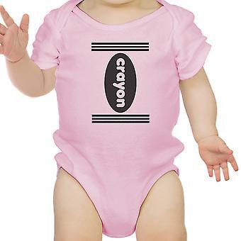 Wachsmalstift niedlichen Baby Halloween Bodysuit erste Halloween Outfits Baby-Geschenk