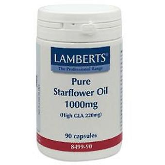 Lamberts Pure Starflower Oil 1000mg, 90 capsules