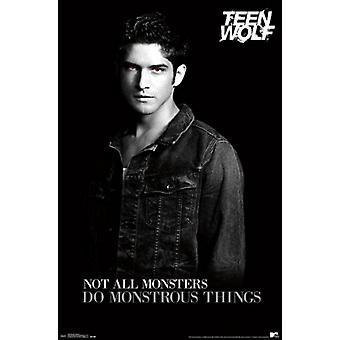 Teen Wolf - Monster-Poster-Plakat-Druck