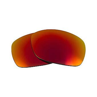 Replacement Lenses for Oakley Sideways Sunglasses Red Mirror Anti-Scratch Anti-Glare UV400 by SeekOptics