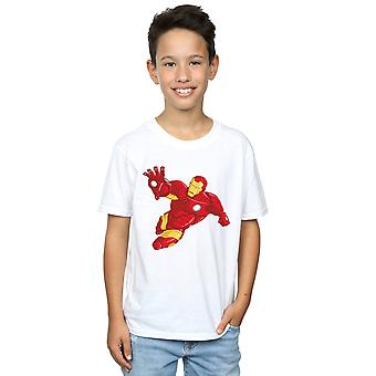 Marvel Boys Iron Man Simple T-Shirt