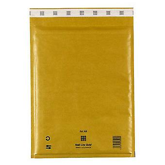 Mail Lite Sealed Air Gold Bubble Mail Bags (Pack Of 10)