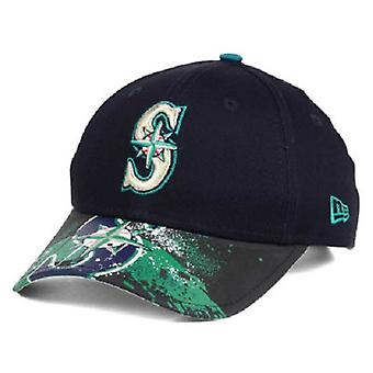 Seattle Mariners MLB New Era 9Twenty Splatter Snapback Hat