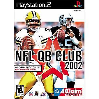 NFL QB Club 2002-fabriks forseglet