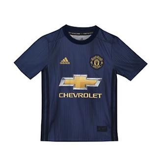 2018-2019 Man Utd Adidas dritten Fußballtrikot (Kids)