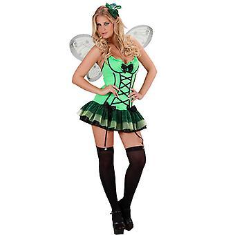 Grüner Schmetterling (Kleid Flügel Haircomb)