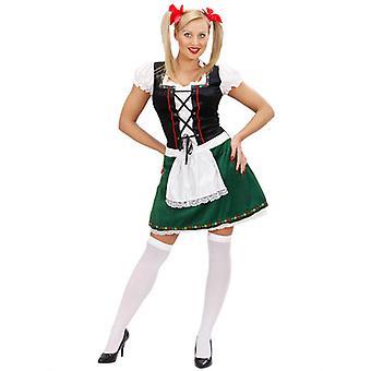 Bayerska Girl kostym