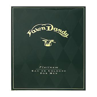 Parera Varon Dandy Platinum For Men Eau De Cologne Splash 100ml In Box