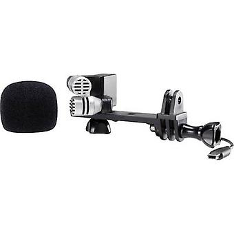 Renkforce GM-01 camera microfoon Transfer type: snoer incl. clip, incl. pop filter