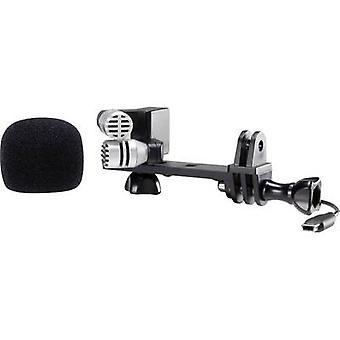 Renkforce GM-01 Câmera microfone transferência tipo: Corded incl. clipe, incl. filtro pop