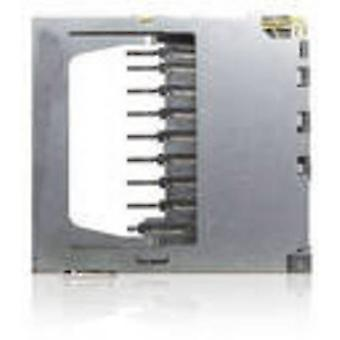 Yamaichi SD, MMC Card connector No. of contacts: 9 Push, Push FPS009-2305-0 incl. switch 1 pc(s)