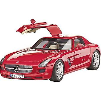 Revell 07100 Mercedes SLS AMG bil model montage kit 1:24