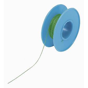 Conrad onderdelen 93014c 326 Winding draad Wire Wrap 1 x 0,20 mm² groen 15 m