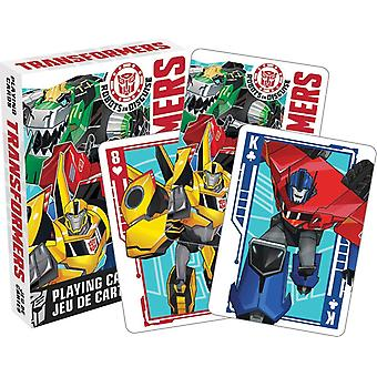 Transformateurs (Robots In Disguise) jeu de 52 cartes (+ Jokers) (52399)
