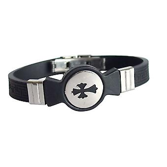 Ladies mens unisex bracelet Bangle Bracelet unisex bracelet stainless steel and PU