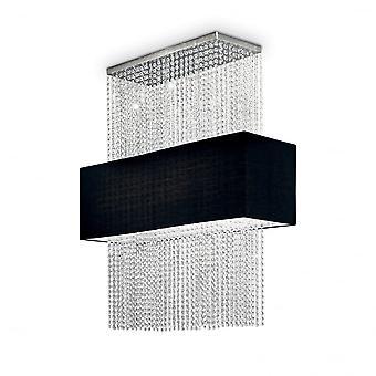 Идеальные Lux Феникса 5 Лампа Кулон света черный