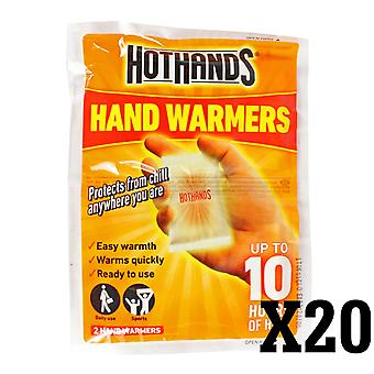 Hothands Hand Warmers 20 Pairs