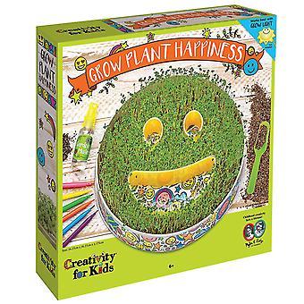 Kreativitet for børn 6126 plante lykke Emoji vokse Kit