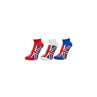 Союза Джек носить Юнион Джек дамы спортивные носки