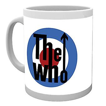 Official The Who Mug Classic MOD Target Band Logo Quadrophenia new Boxed