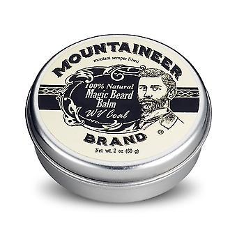 Baume de barbe de charbon magique de marque d'alpiniste 60g
