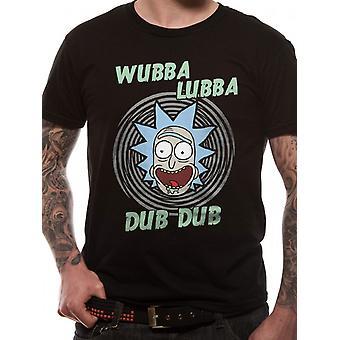 Rick And Morty-Wubba Lubba T-Shirt