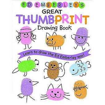 Ed Emberley Thumbprint disegno libro di E. Emberley - Bo 9780316789684