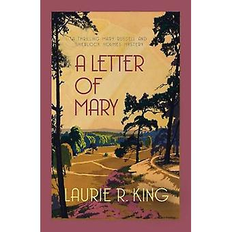 Une lettre de Marie de Laurie R. King - Book 9780749015053